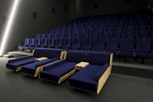 Une salle de l'Europacorp Cinémas