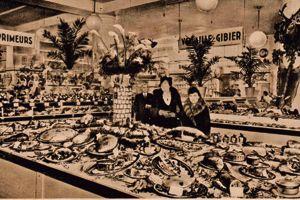 L'institution en 1938, qui s'appelait alors le comptoir de l'alimentation.