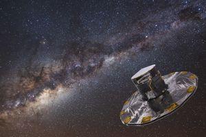 Le télescope Gaïa (vue d'artiste) devrait fournir aux astrophysiciens une masse de données sans précédent.