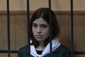 Nadezhda Tolokonnikova.
