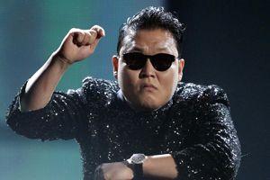 Psy et son <i>Gangnam Style</i>, vidéo la plus vue sur YouTube.