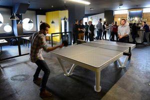 Le Gossima Ping-Pong Bar.