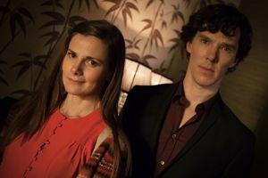 Benedict Cumberbatch alias Sherlock.