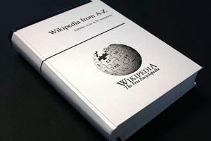 La couverture du premier volume de Wikipédia version papier.