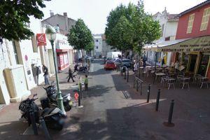 La place Robespierre dans le 9e secteur de Marseille.