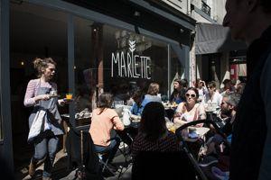 Marlette, le café ouvert par les créatrices de préparations bio et sans glutten.