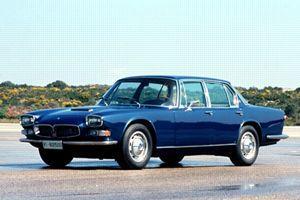 La première berline Quattroporte.