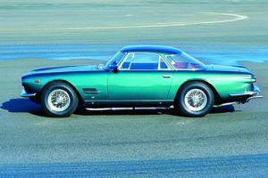 Le fameux coupé 5000 GT.