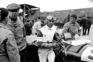 Le pilote italien Tazio Nuvolari.