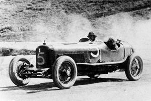 La Maserati Tipo 26.