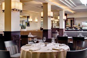 Les Cimaises, l'un des deux restaurants de l'hôtel Westminster au Touquet.