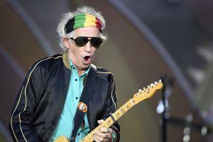Keith Richards, le légendaire guitariste des Rolling Stones.