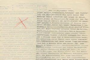 Bundesarchiv, extrait d'une lettre d'un soldat sur le front Ouest
