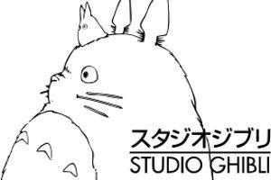 Le logo du studio Ghibli.