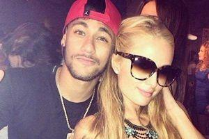 Neymar et Paris Hilton à Ibiza. (Instagram Neymar)