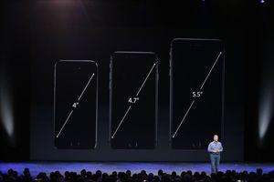 Les évolutions de tailles d'écran d'iPhone.