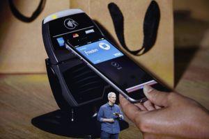 Le système de paiement Apple Pay.