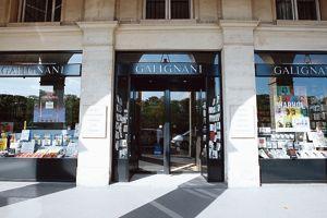 La librairie Galignani.