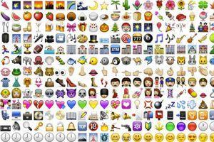 Une sélection d'emojis.