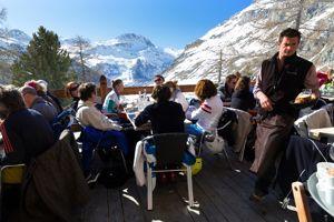 Le restaurant d'altitude l'Edelweiss.