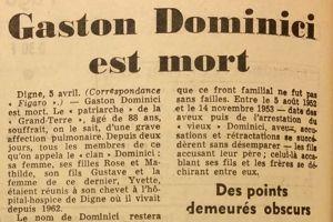 Article paru dans <i>Le Figaro </i>du 6 avril 1965.