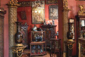 Les époux d'Ennery ont rassemblé leur exceptionnelle collection d'art d'Extrême-Orient dans un hôtel de l'avenue Foch (XVIe).