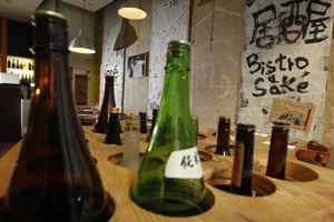 Les sakés d'Izakaya Issé.