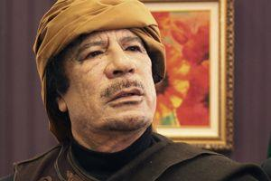 Mouammar Kadhafi en mars 2011.