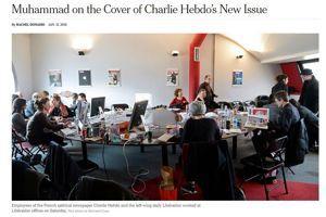 Capture écran @New York Times