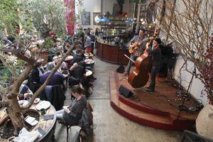 Jazz-brunch à La Bellevilloise.