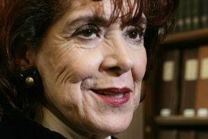 Assia Djebar, en 2006.