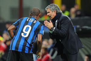 Avec Samuel Eto'o à l'Inter Milan