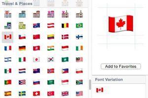 Trente nouveaux drapeaux ont été intégrés dans les nouveaux emojis.