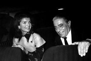 Jackie et Aristote Onassis en 1972.