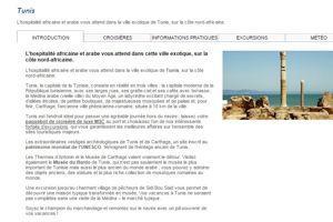 Détail du programme de la croisière du navire <i>Costa Fascinosa.</i>