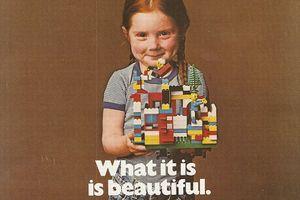 Affiche publicitaire Lego de 1981. (Crédits photo: Lego)