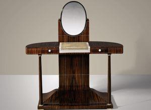 la coiffeuse à colonnette de 1919, par Jacques-Émile Ruhlmann.