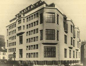 Le Studio building d'Henri Sauvage.