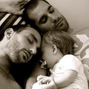 La photo d'Olivier Ciappa et de son petit ami qui a fait le buzz.Olivier Ciappa