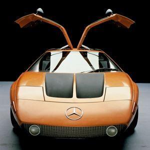 La Mercedes C111.