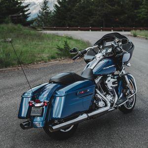 La Road Glide conserve le moteur à air.