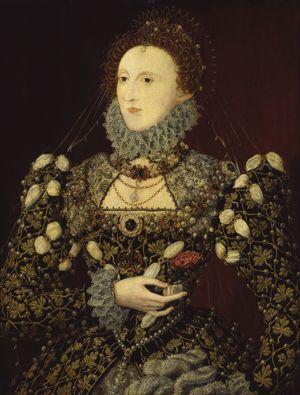 <i>Elisabeth I</i>, dit le <i>Portrait au phénix</i>, associé à Nicholas Hilliard, vers 1575.