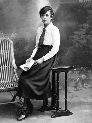 Jeune bachelière en 1925.