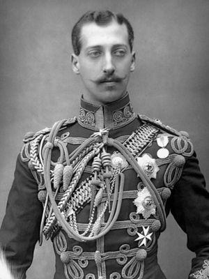 Prince Albert Victor, duc de Clarence.