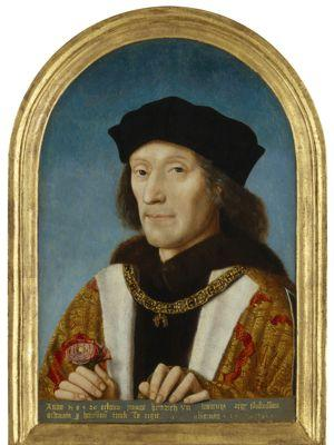 <i>Henri VII</i>, artiste inconnu, 1505.
