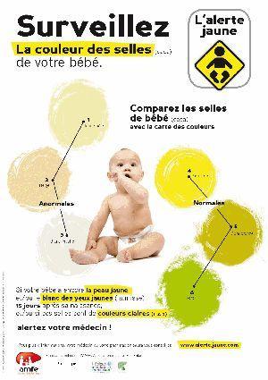 L'affiche diffusée par l'Association Maladies Foie Enfants (AMFE).