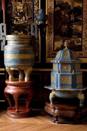 Musée chinois de l'Impératrice au château de Fontainebleau.