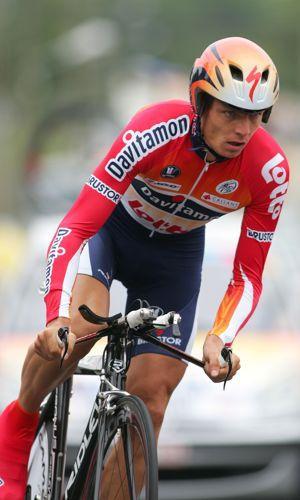 Wim Vansevenant, trois fois «lanterne rouge» du Tour de France.