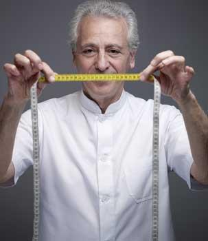 Le nutritionniste se sent investi d'une mission : lutter contre l'obésité et le surpoids. (Stephan Gladieu/Le Figaro Magazine)