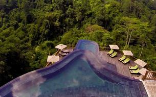 Bali: un hôtel au cœur de la forêt tropicale